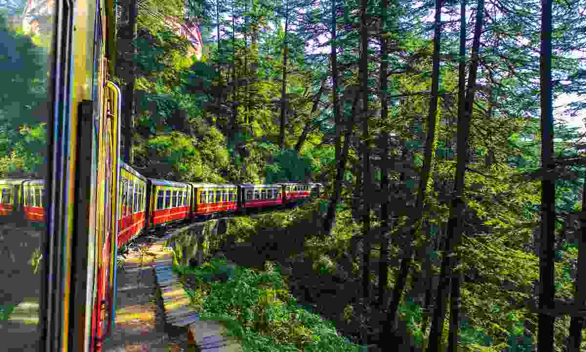 Don't just settle for a quick getaway – extend your travels. Try exploring India by rail (Dreamstime)