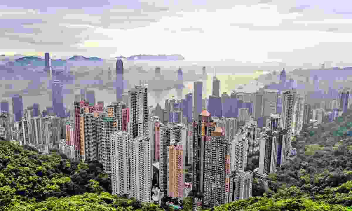 Views over Hong Kong city (Hong Kong Tourism Board)