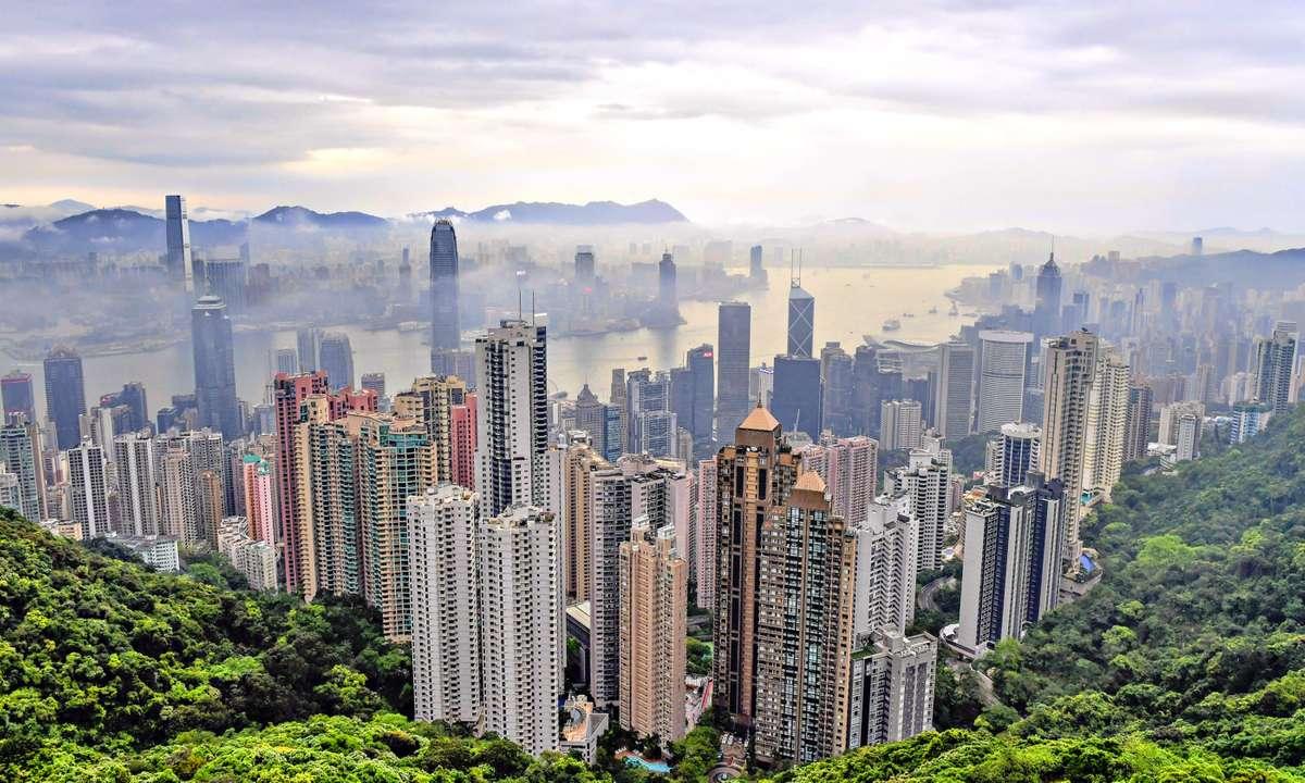 Views over Hong Kong city (Hong Kong Tourism Board)