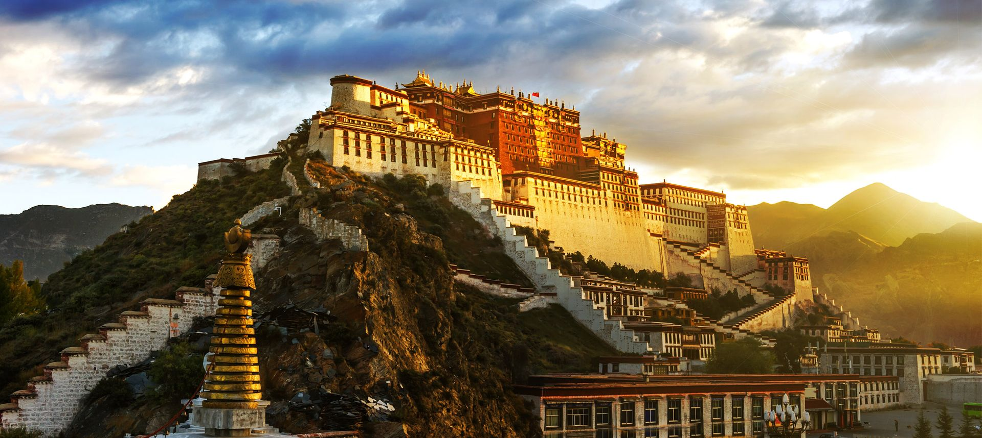 Take the plunge with a career break or once-in-a-lifetime trip. Pictured is Potala Palace in Tibet (Shutterstock)