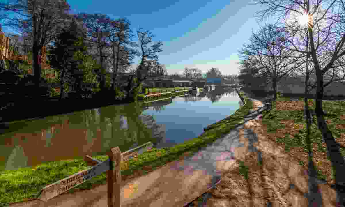 The River Wey in Guildford (Dreamstime)