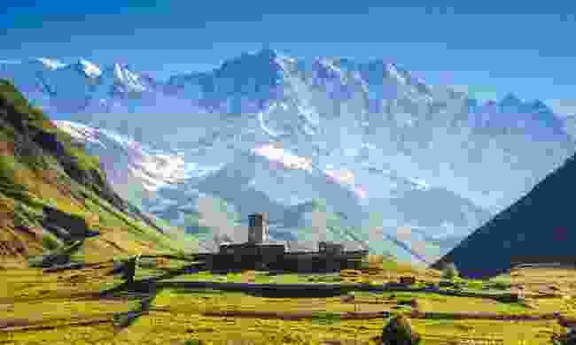 Ushguli village in Georgia (Shutterstock)