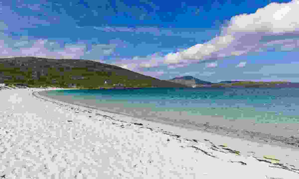 White sands of Vatersay Beach (Dreamstime)