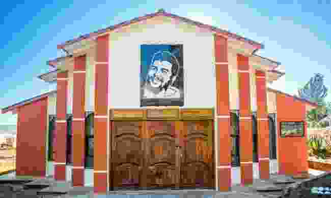 The mausoleum that stands over Che's original burial spot (Dreamstime)
