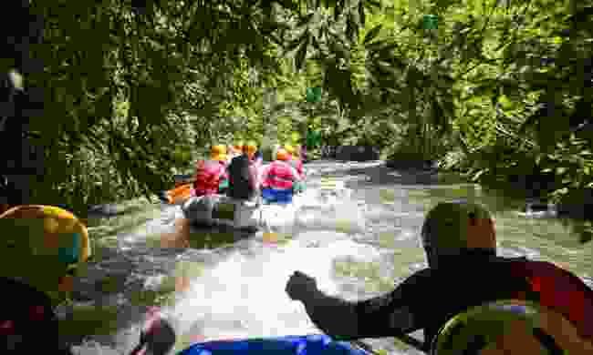 Whitewater rafting (Dreamstime)