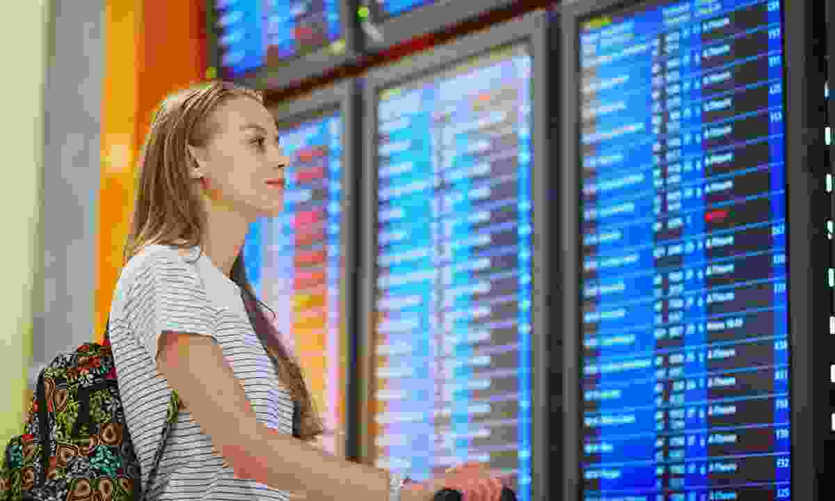 Female solo travel (Dreamstime)