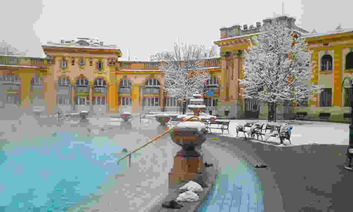 Szechenyi spa, Budapest (Dreamstime)