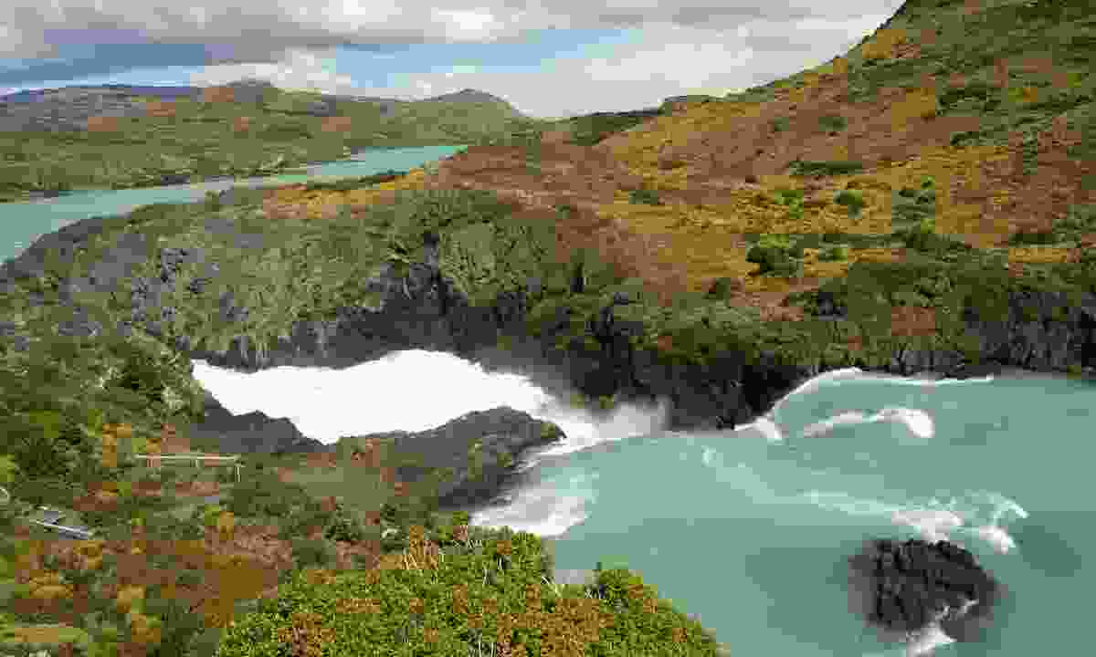 From the top of Salto Grande Falls(Dreamstime)