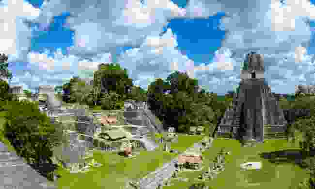 Tikal ruins (Dreamstime)
