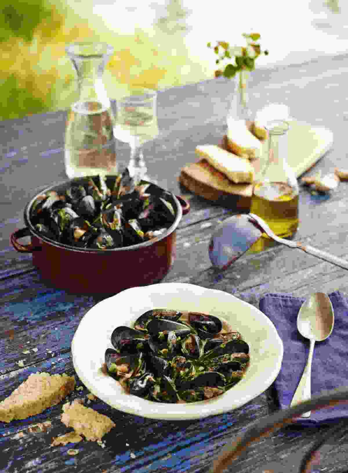 Mussels (Slovenian Tourist Board)