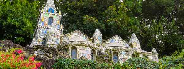 Walk past the famous Little Chapel in Guernsey (Dreamstime)