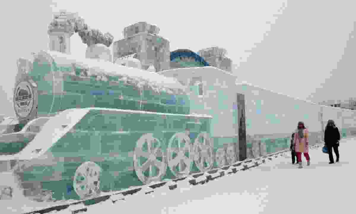 Ice train (Trans-Siberian Experience)