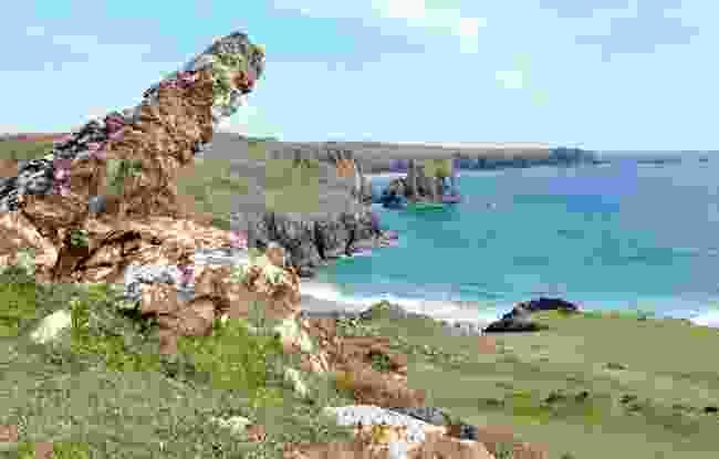 Kynance Cove on the Lizard Peninsula (Stephen Bull)