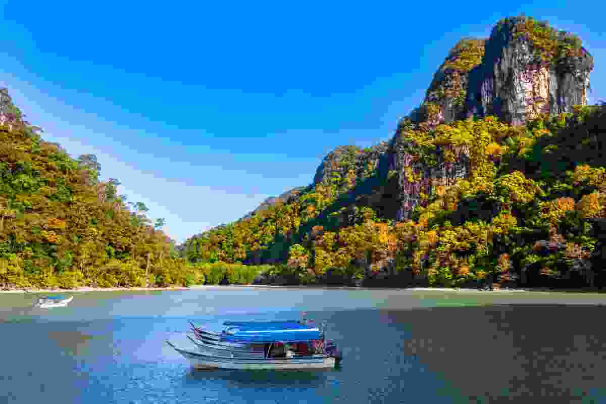 The stunning views of Kilim Geoforest Park in Langkawi, Malaysia (Shutterstock)