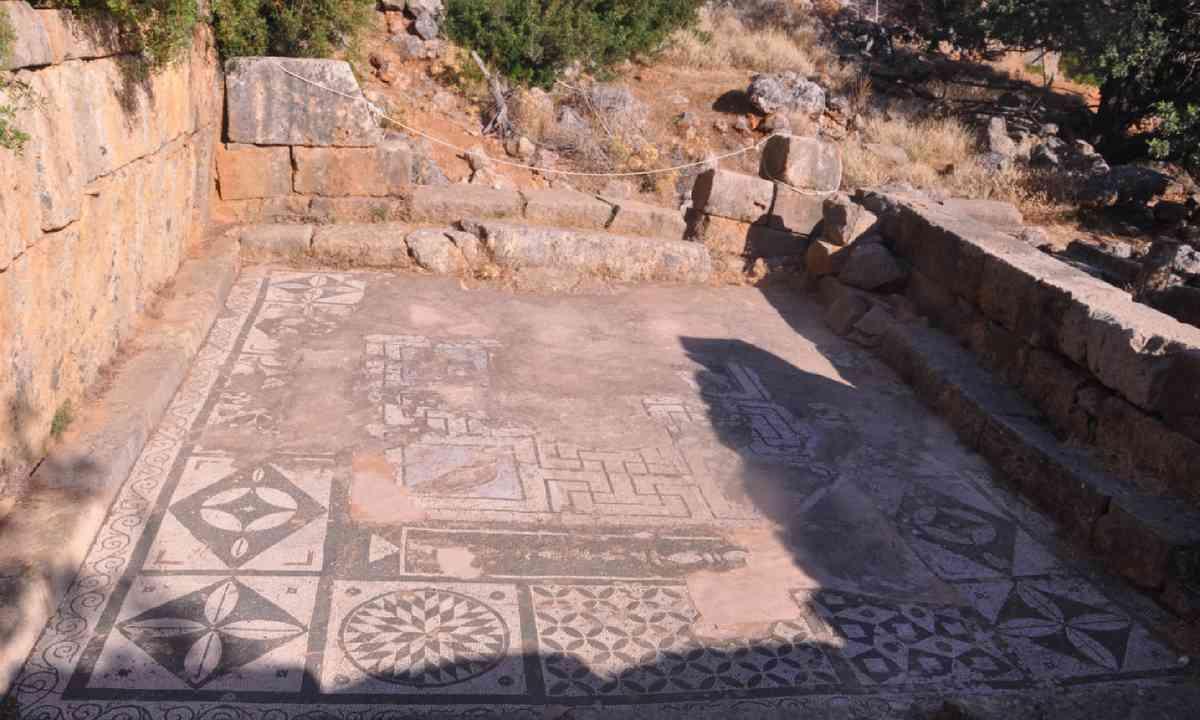 Lissos mosaics view (Marc Dubin)