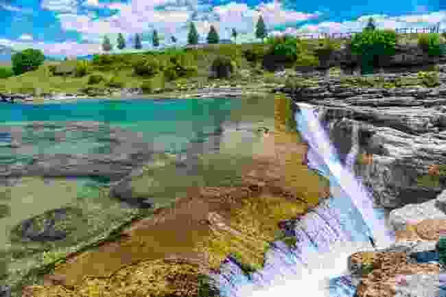 Niagara Falls, near Podgorica, Montenegro (Shutterstock)