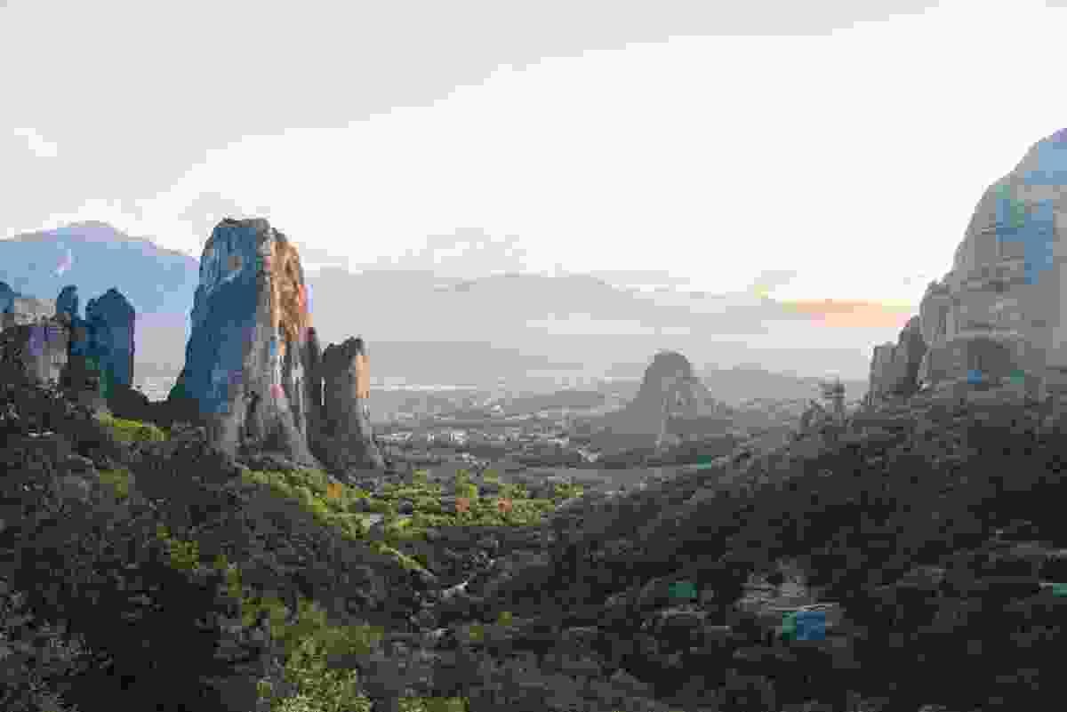 Meteora, Thessaly, Greece (Johan Lolos)