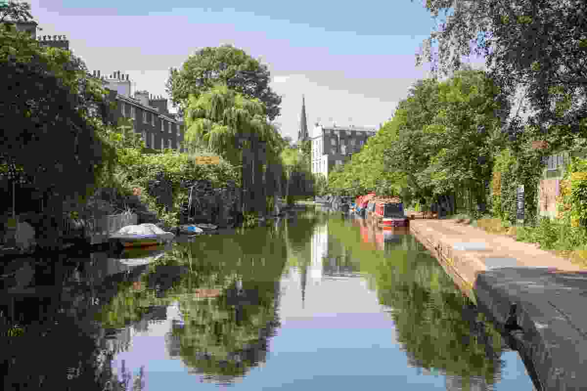 Regents Canal, London (Shutterstock)