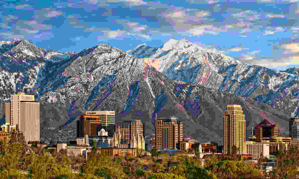 Salt Lake City's incredible mountain-backed skyline (Doug Pulsipher)