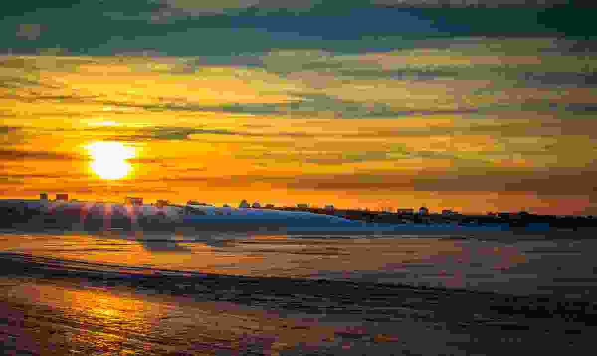 A sunset in Nome, Alaska (Shutterstock)