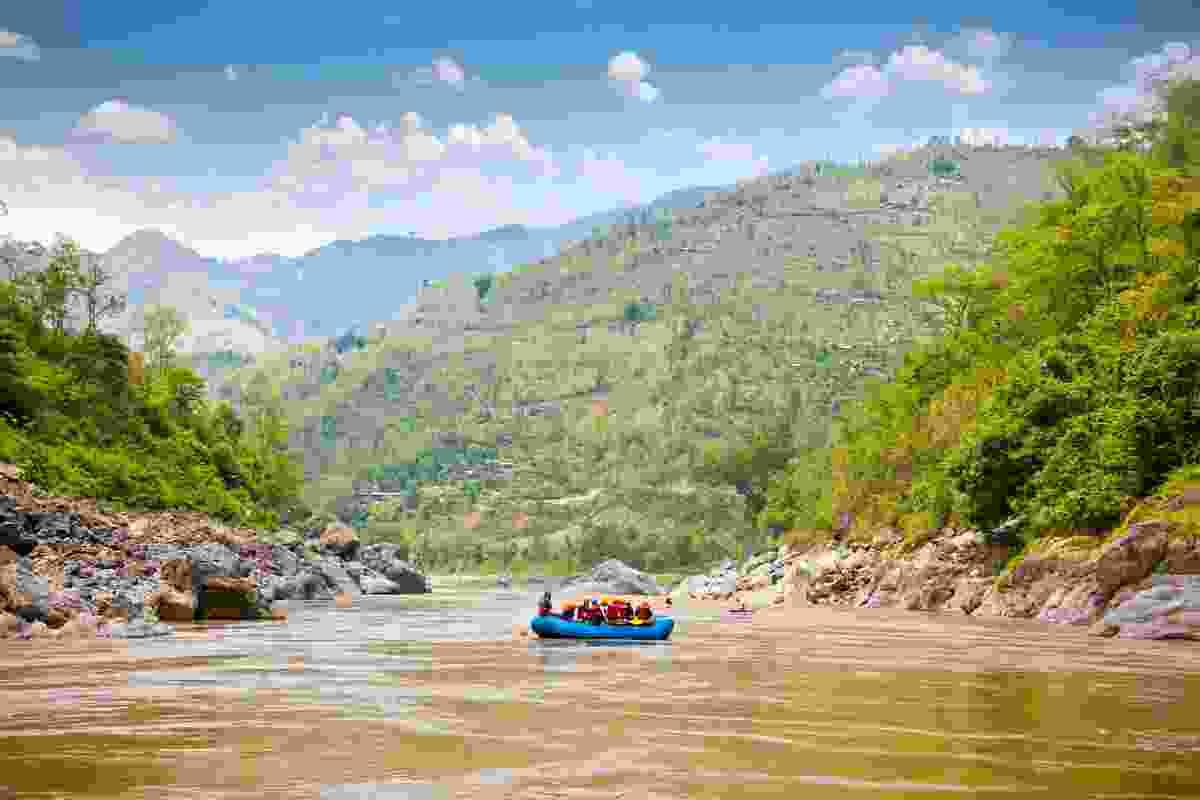 Rafting in Nepal. (Shutterstock)