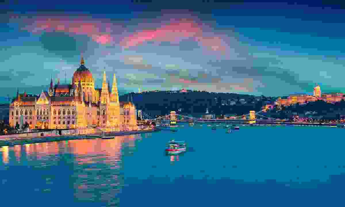 Cruise the Danube, Europe (Shutterstock)
