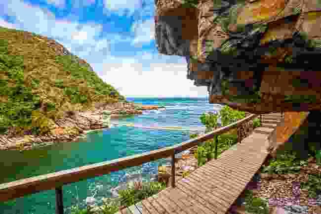 Bridges in Tsitsikamma National Park, South Africa