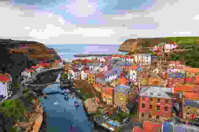 The fishing village of Staithes, North York Moors National Park (Shutterstock)