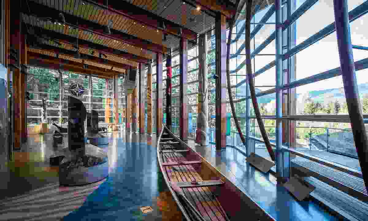Squamish Lil'wat Cultural Centre (Destination BC/Blake Jorgenson)