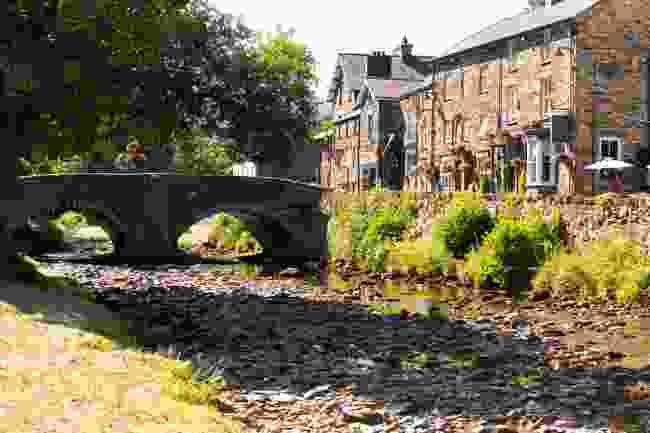 Beddgelert village in Wales (Shutterstock)