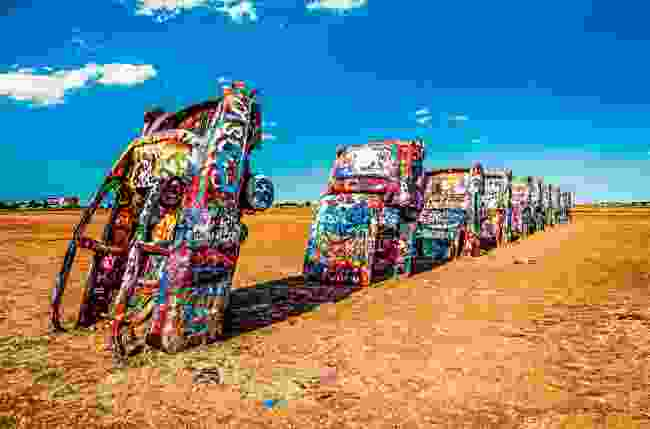 Cadillac Ranch in Amarillo, Texas (Shutterstock)