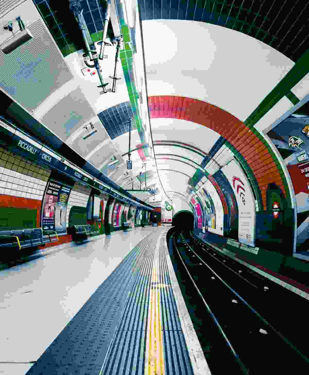 Piccadilly Circus Station (Sulay Kelly)