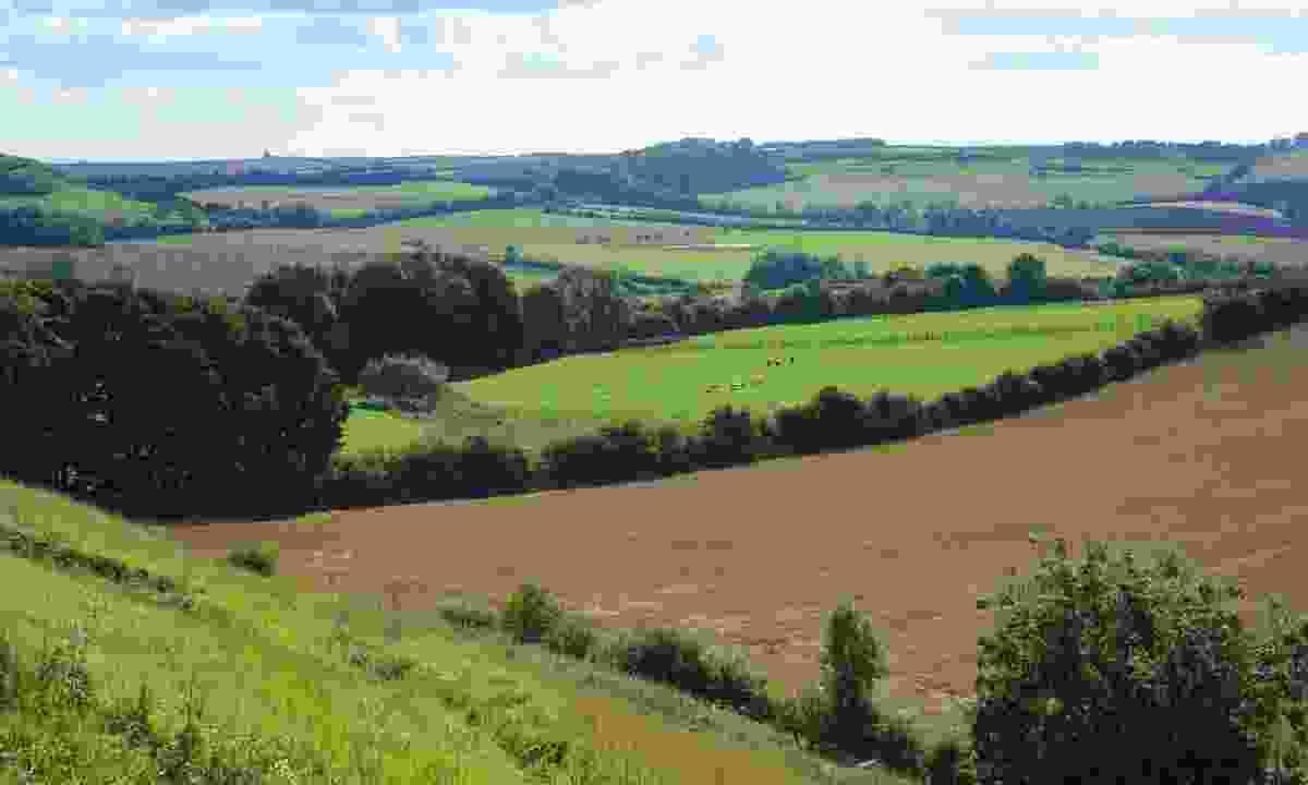 Bluestone Heath Road towards Scamblesby (VisitLincoln.com)