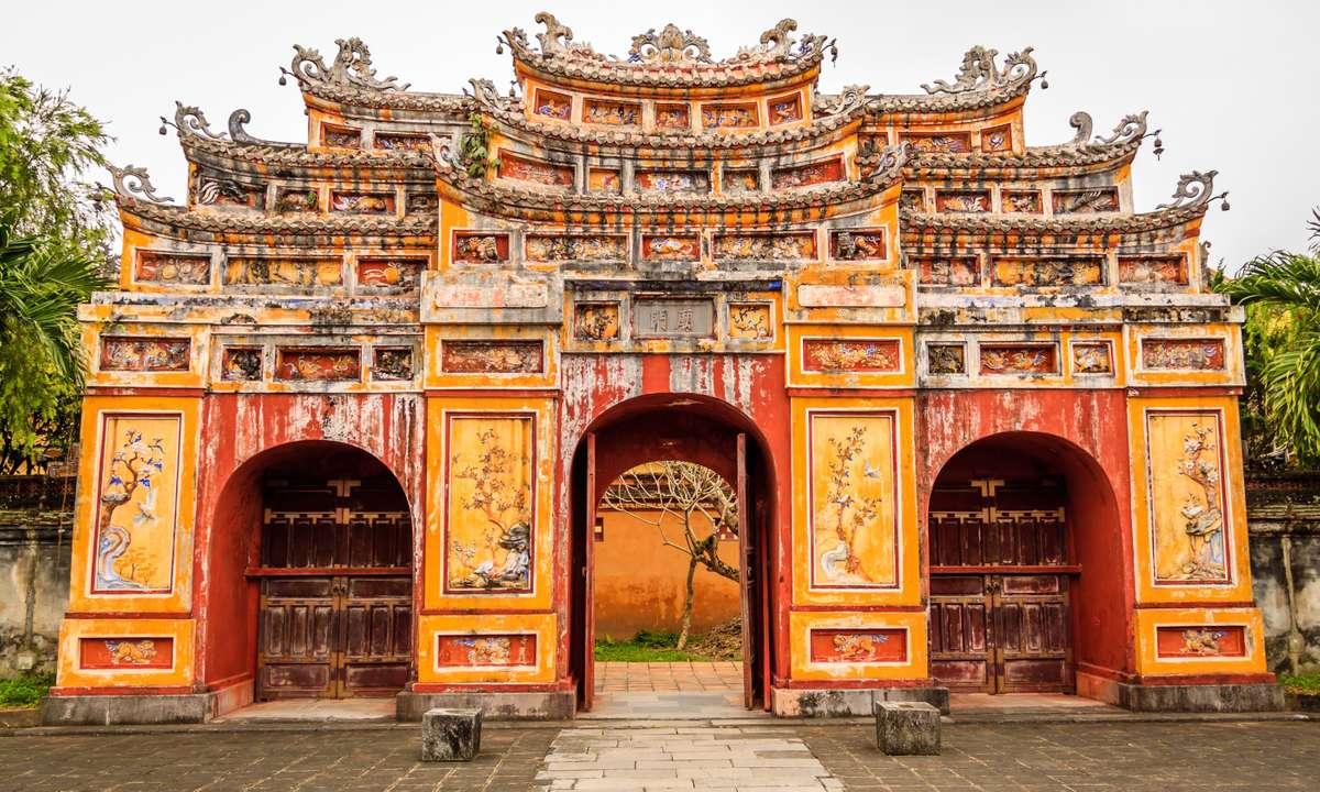The Forbidden City at Hue, Vietnam (Dreamstime)