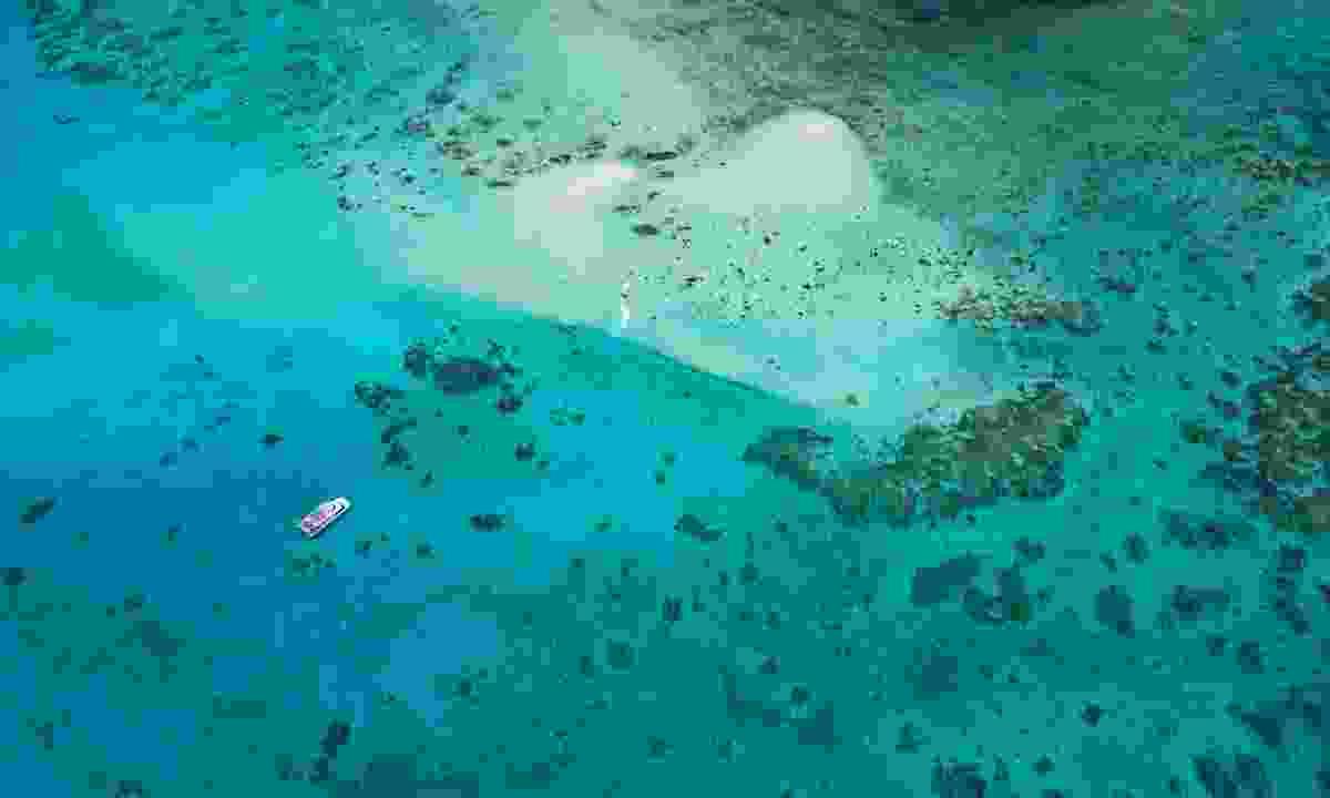 Boats on the Great Barrier Reef (Dreamstime)