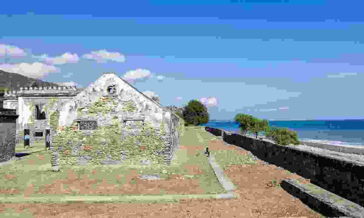 The ruins of Ai Pelo prison (Shutterstock)