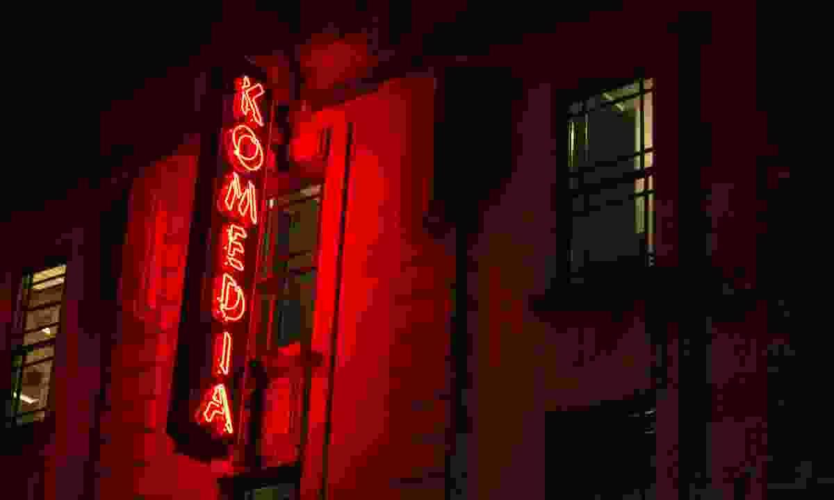 The Komedia at night (Visit Bath)
