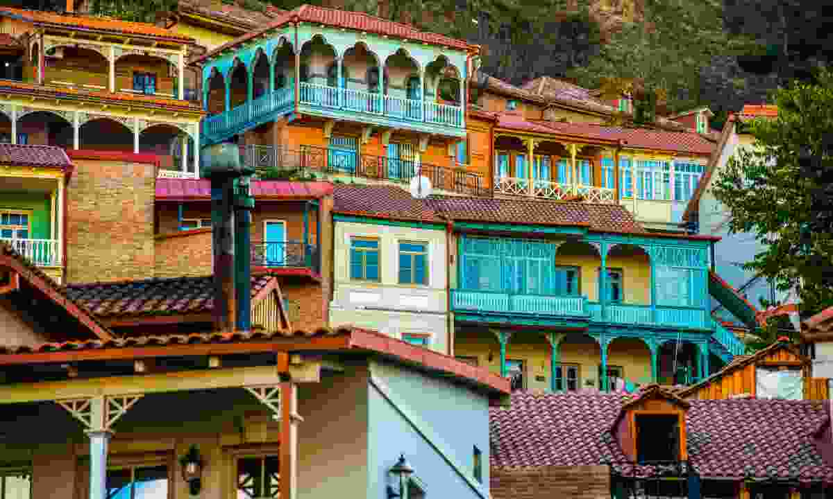 Tbilisi old town (Dreamstime)