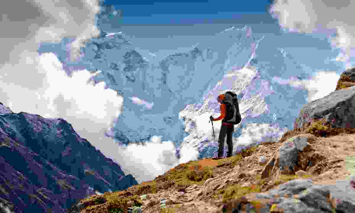 Trekking in the Himalaya (Shutterstock)