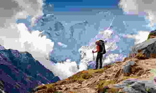 Trekking in the Himalaya (Shutterstock)