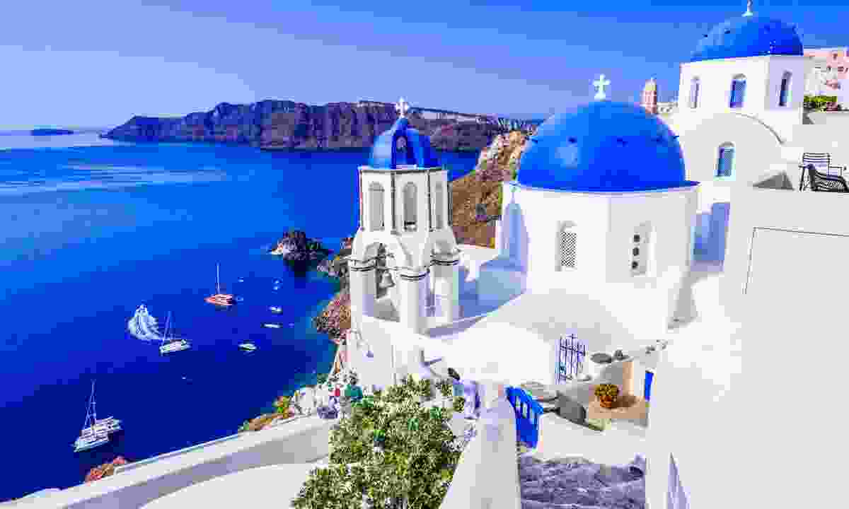 Santorini without the crowds (Shutterstock)