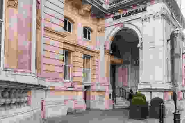 The Langham Hotel on Regent Street (Shutterstock)