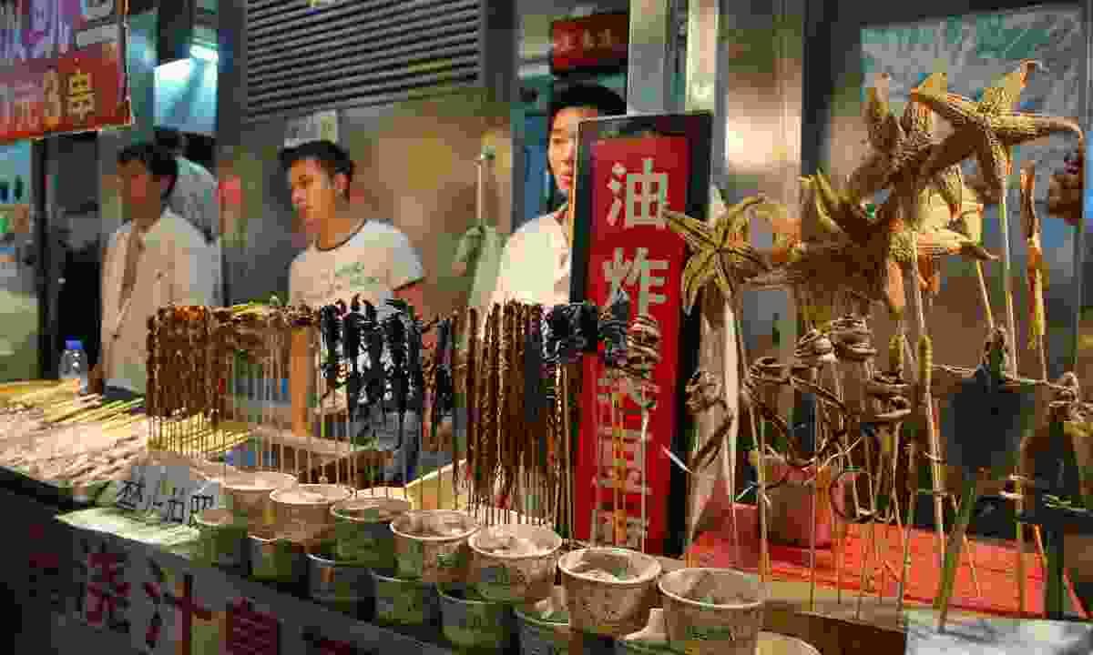 Beijing food market (Dreamstime)