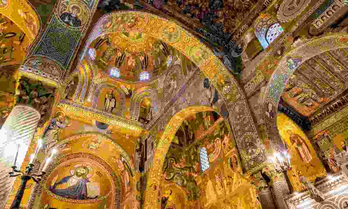 Capella Palatina, Palazzo dei Normani, Palermo (Shutterstock)
