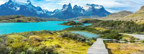 Pehoe Lake, Patagonia, Chile (Dreamstime)
