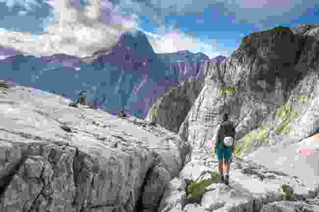 Hiking on Mt Trigalv (Jošt Gantar)