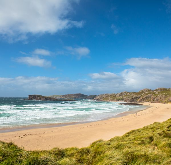 DETOUR TIP: It will not have the same secluded feeling as Sandwood Bay, but nearby Oldshoremore Beach or locally known Am Meallan, is one of the most beautiful beaches in Sutherland. The small parking area is just a few hundred metres from the beach making it much easier to get to than Sandwood Bay.