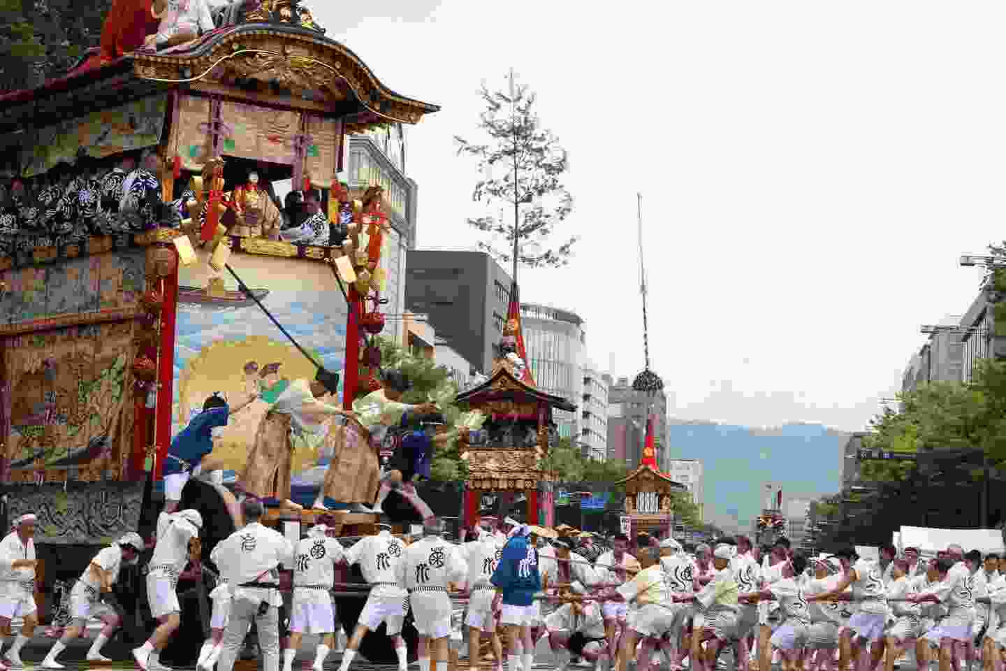 Kyoto's Gion Festival is one of Japan's biggest (Shutterstock)