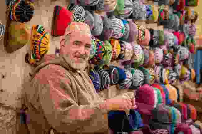 Explore a market in Morocco (Shutterstock)