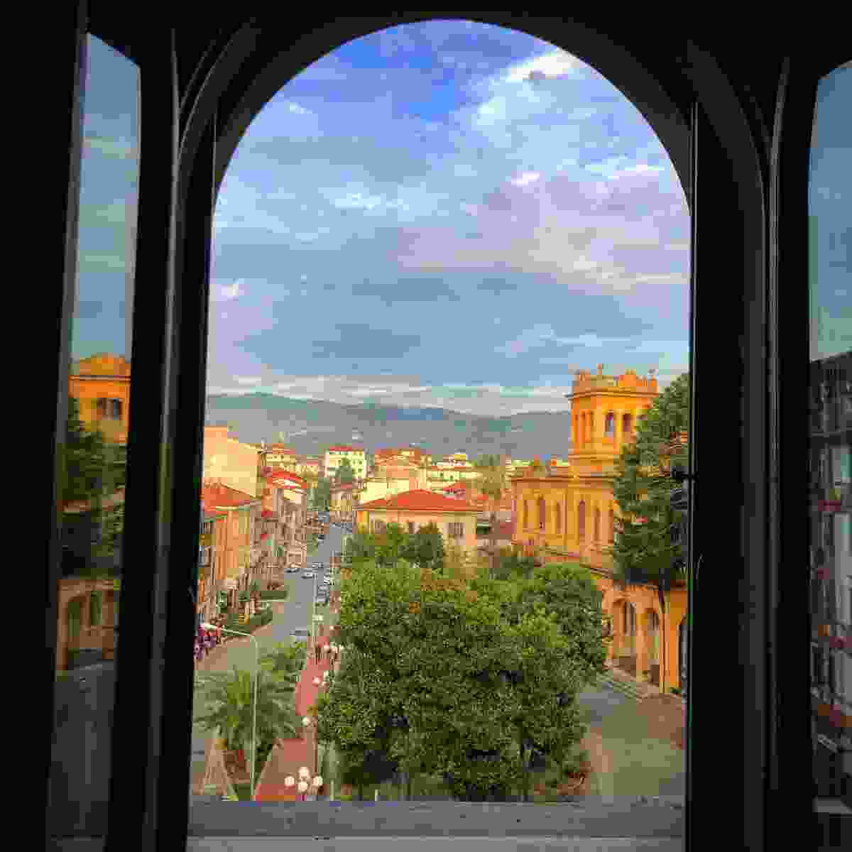 The Tuscan town of Montecatini Terme (Phoebe Smith)